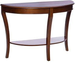 half circle entry table finest cabinet half moon accent