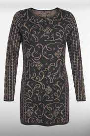 Icelandic Design Icelandic Design Wool Tunic Dress Tiger Lily