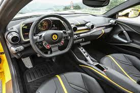 2018 ferrari 812 0 60. modren 812 ferrari likes to suggest the superfast is a sports car with gt capability  and that duality of purpose reflected in an interior thatu0027s halfway house  inside 2018 ferrari 812 0 60