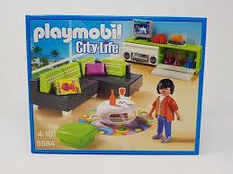 Playmobil 5584 City Life Wohnzimmer Modernes Wohnen Real