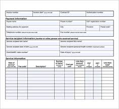 Medical Invoice Pdf Medical Billing Template 15 Sample Medical Invoice Templates To