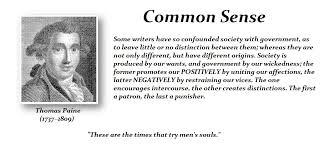 Common Sense Thomas Paine Quotes Delectable Common Sense Thomas Paine Armstrong Economics