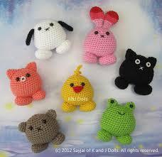 Crochet Animal Patterns Fascinating Cute Round Crochet Animals Toys For Baby Pinterest Crochet
