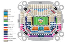 Capital One Orange Bowl Seating Chart Tickets 2019 Capital One Orange Bowl Miami Fl At