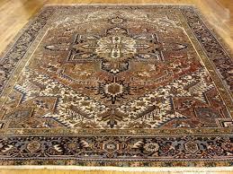 9 x 11 heriz persian oriental area rugs carpet