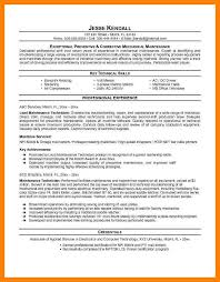 7 Maintenance Manager Resume Writing A Memo