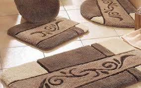 rug brown ideas bath rugs and shower kohls gray floor curtains sets green fieldcrest d large