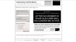 Paying Banana Republic Credit Card Gemescool Org