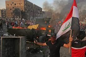 انتفاضة شباب العراق نحو هدفها