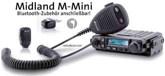 Midland Radio Frequency Chart Midland M Mini Cb Radio Multistandard Bluetooth Features