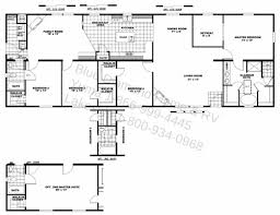 innovation idea single story house plans with dual master suites great room small floor modern decor