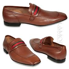 gucci dress shoes for men. gucci men shoes loafers leather + signature web camel classic 18995(ggm1533) dress for