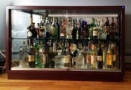 liquor cabinet with lock you ll love in