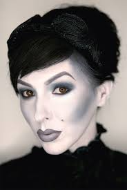 grayscale makeup black and white