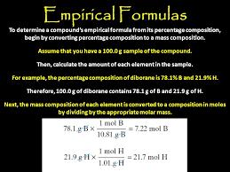 Thursday December 6, 2012 (Worksheet – Empirical Formulas) - ppt ...