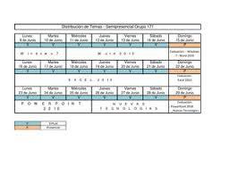 Formatos De Cronogramas De Actividades Formato Cronograma De Actividades Semipresencial By Carlos Vargas