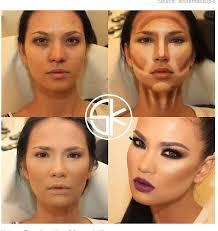 contour makeup. makeup contour