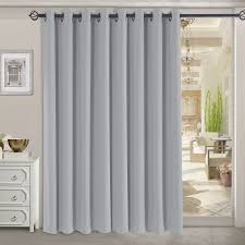rhf funtion curtain wide thermal blackout patio door curtain panel sliding door insulated curtains