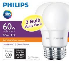 60 Watt Light Bulbs For Sale Philips Unveils A 60 Watt Equivalent Led Bulb For Led Lights