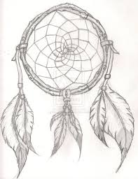 Native Dream Catchers Drawings Moon Dreamcatcher Drawing at GetDrawings Free for personal 8