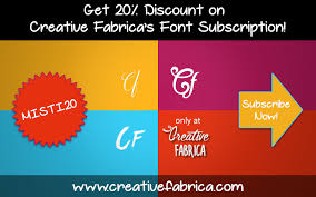 Browse by alphabetical listing, by style, by author or by popularity. Get 20 Discount On Creative Fabrica S Font Subscription