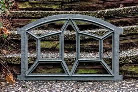 Fenster Grau Stallfenster Eisenfenster Scheunenfenster Eisen 64cm