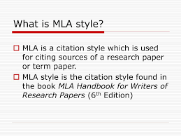 Ppt Mla Style Powerpoint Presentation Id5326176