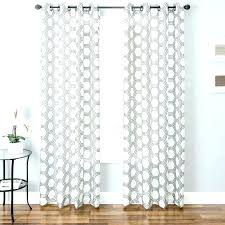 White Patterned Curtains Best Grey Patterned Curtains Retrorichmond