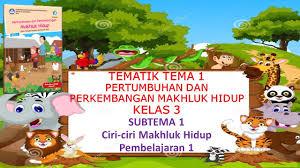 Try the suggestions below or type a new query above. Kelas 3 Tematik Tema 1 Pertumbuhan Dan Perkembangan Makhluk Hidup Subtema 1 Pembelajaran 1 Youtube