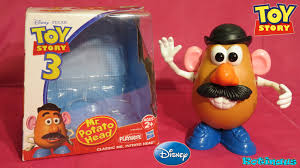 mr potato head toy story toy. Simple Story Toy Story 3 Mr Potato Head Figure Classic Toy Disney Funny Videos For Kids  Toys  YouTube In 5
