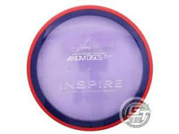 Details About New Axiom Discs Proton Inspire 174g Purple Red Rim Fairway Driver Golf Disc