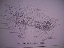 ford econoline other parts 1965 ford econoline wireing wiring diagram covers all 11x17 oversize 8 pgs