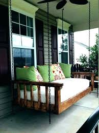 hanging bed swing plans hanging bed swing porch large size of outdoor beds for daybed plans