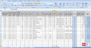 format of inventory how to maintain fabric trim and accessory record in an excel sheet