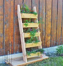 diy garden furniture ideas 1 diy ladder planter