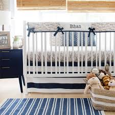 woodland crib rail cover bedding moose trail collection