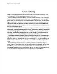 human trafficking thesis statement examples human trafficking anthem by paper jacket