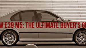 Coupe Series 2001 bmw 530i interior : The Champ is Here: The Ultimate BMW E39 M5 Buyer's Guide