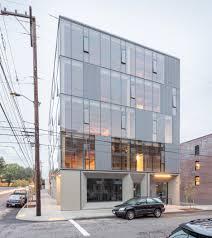 office building facade. Framework By WorksArchitecture Office Building Facade W