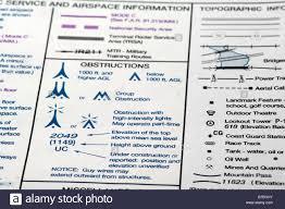 Ifr Chart Legend Aeronautical Chart Stock Photos Aeronautical Chart Stock