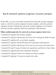topnetworksystemsengineerresumesamples lva app thumbnail jpg cb