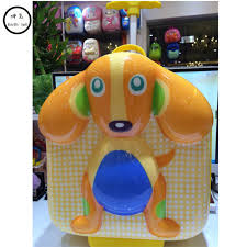 lovely 3d trolley bags for s boy suitcase kids book bag wheels primary satchel