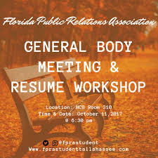 Fpra Tallahassee Student Chapter Home Facebook