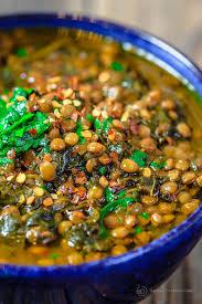 terranean y spinach lentil soup recipe the terranean dish a nutritious flavor