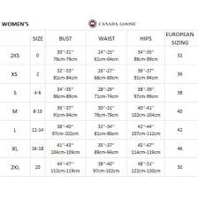 Mens Canada Goose Jacket Size Chart True To Life Canada