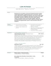 Sample Teacher Resumes Best Of Resume Samples For Teachers Resume For Teaching Job Resume For