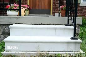 how to paint concrete patios repainting concrete porch painting porch steps before painted concrete porch floors