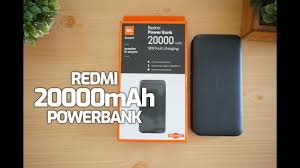 <b>Redmi Power Bank</b> 20000mAh Unboxing- 18W <b>Fast</b> Charging ...