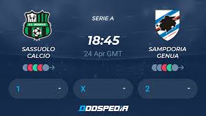 Sassuolo Calcio - Sampdoria Genua » Live Stream & Ticker + Quoten,  Statistiken, News