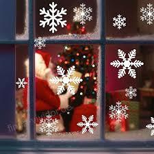 Schneeflocken Fensterbild Migimi Fensterdeko Weihnachten